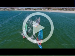 South Africa Windsurf Video of Langebaan