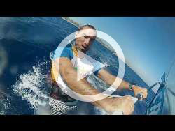 Kefalos Kos Windsurf Sailing Video