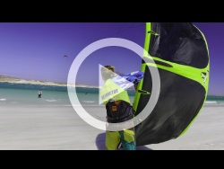 Langebaan - South Africa Kitesurfing Video Sailing