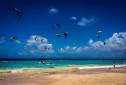 Bonaire Kiteboarding Holidays. Learn to Kitesurf course.