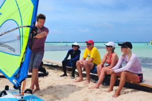 Bonaire Windsurf Holiday - instruction courses, camps and clinics.