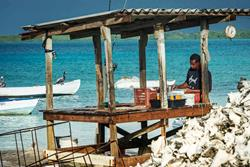 Bonaire Windsurf and Kitesurf Holiday. Local fishermen.