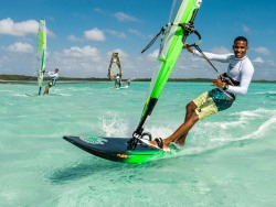 Bonaire Windsurf Holiday - Lac Bay. Rental and instruction packages.