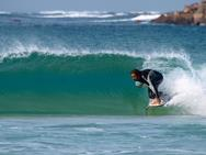 Corralejo Surfing at Flag Beach.
