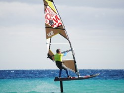New Airfoiling windsurfing in Golf de Rosas, Spain