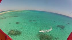 Hurghada, Red Sea - turquoise, shallow, flat water kiting.