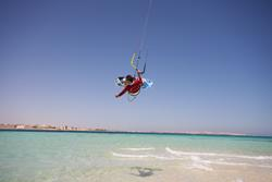 Hurghada, Red Sea - kitesurfing holiday.