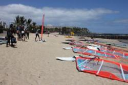 Lanzarote, Canary Islands - Windsurfing Clinic with Simon Bornhoft