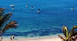 Costa Teguise Windsurf Centre - Lanzarote. Paddle boarders.
