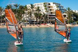 Costa Teguise Windsurf Centre - Lanzarote. Childs windsurf lesson.