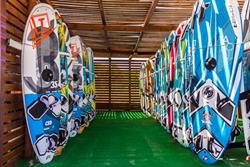 Keros Bay Windsurf and Kitsurf Centre - Lemnos. Rental boards.
