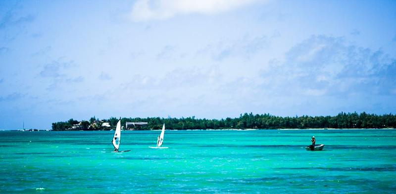 Mauritius - learn to windsurf holiday