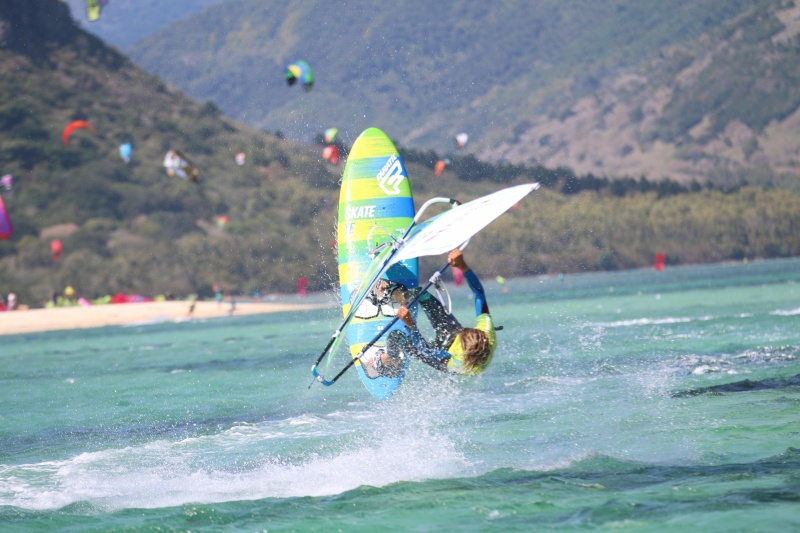 Mauritius windsurfing
