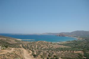 Crete windsurfing and cycling holidays. Palekastro Bay.