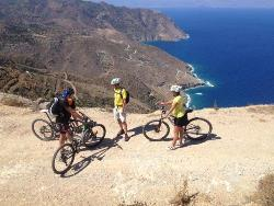 Crete - Palekastro Bay mountain bike and cycling rental and tours.