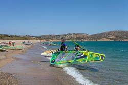 Crete Windsurfing Holiday - Palekastro, Kouremenos Beach