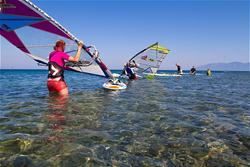 Psalidi, Kos - learn to windsurf holiday.