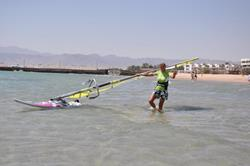Safaga, Red Sea - beach launch.