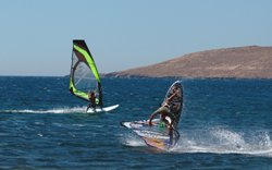 Sigri Windsurfing Holiday Video on Lesvos (Lesbos)