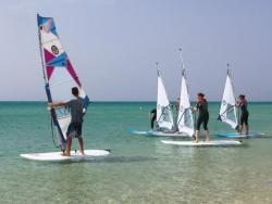 Fanatic Windsurf Centre at Costa Calma Sotavento, Fuerteventura