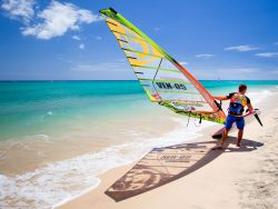 Canary Is Windsurf Kite SUP