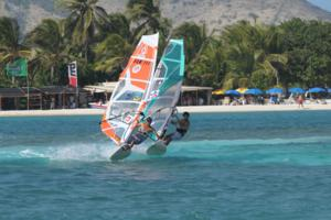 St Martin windsurfing holiday.