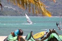 Tobago Kitesurfing & Windsurfing Video Action