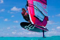 Tobago - Caribbean. Windfoiling.