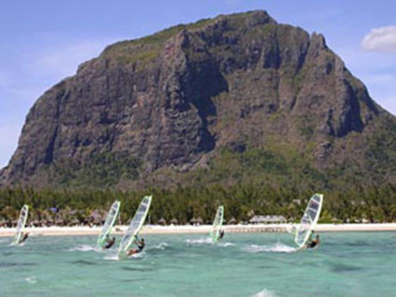 Le morne windsurfing