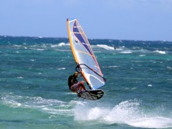 Jem Hall NEW 2020 Mauritius Windsurf Clinic