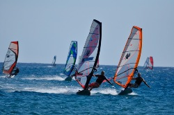 Prasonisi Rhodes Jem Hall Windsurf Coaching Clinic
