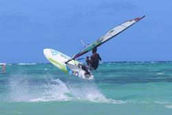 Jem Hall Tobago, Caribbean Windsurfing Clinic.