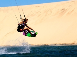 Dakhla Morocco Kite Camp Video Kirsty Jones