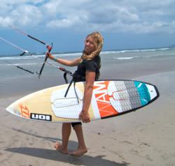 Kirsty Jones Kitesurf Camp