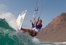 Kirsty Jones Kitesurfing Camp