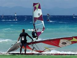 Peter Hart Windsurfing Clinic Rhodes Last 2 Places