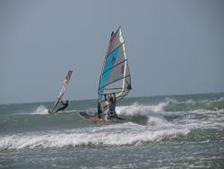 Peter Hart Windsurfing Clinic Video in Jeri Brasil