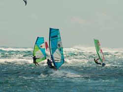 Peter Hart Windsurf Article on Le Morne Mauritius