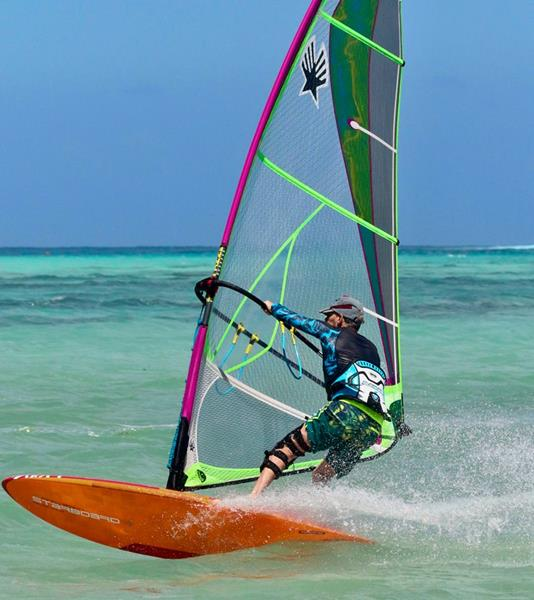 Peter Hart Windsurfing Clinic Masterclass Tobago 2020 with Sportif