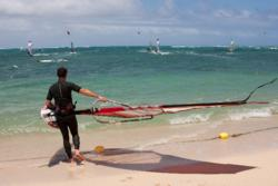Mauritius Windsurf Clinic Video - Simon Bornhoft