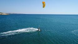 Alacati Bay - Turkey. Kitseurf Holiday, rental and instruction.