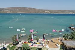 Alacati Bay - Turkey. Windsurf, kitesurf, SUP holiday.
