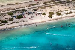 Bonaire Kitesurf Centre, aerial