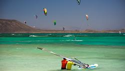 Corralejo Windsurfing Tuition at Flag Beach.