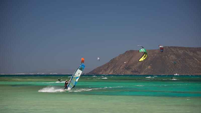 Flag Beach Windsurf Kitesurf Centre At Corralejo
