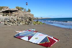 Canary Islands - Gran Canaria Windsurf Holiday. Bahia Feliz beach.