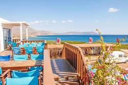 Windsurf Holiday Centre - Karpathos. Restaurant Terrace.