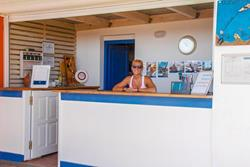 Windsurf Holiday Centre - Karpathos. Reception.