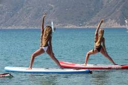 Kos - Kefalos, Greece. SUP Yoga.