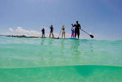 Kenya - Diani Beach. Windsurf, kiteusrf, surf and SUP holidays. SUP.
